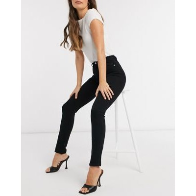 & Other Stories Special organic cotton stretch skinny jeans in black Size 18 for Women on clearance GHSI530