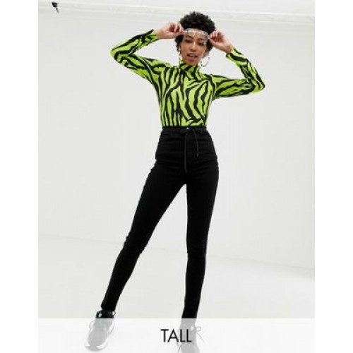COLLUSION Tall x001 skinny jeans in black Size 10 sale online JCRJ668