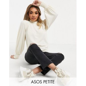 DESIGN Petite mid rise vintage 'skinny' jeans in washed black with rips for Women Sale KUCC189