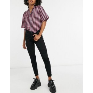Noisy May Kimmy skinny jeans in black for Women on style CCSO342