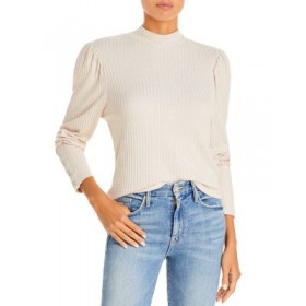 CHASER Girl's Puff Sleeve Thermal Top Sugar Cookie For Large Arms VSLG867