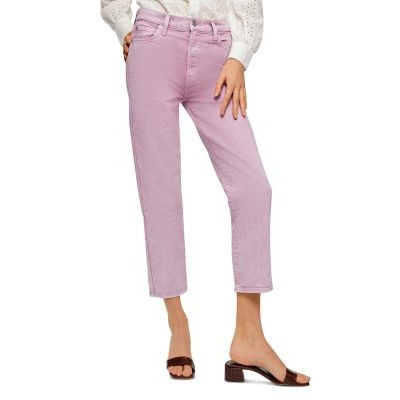 7 For All Mankind Women's High Waist Cropped Jeans Mnrl Sorbt Collection QZSH744