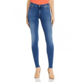 7 For All Mankind Women's Slim Illusion High-Waist Skinny Jeans in Luxe Lovestory Luxe Lovestory For Sale XNLD393