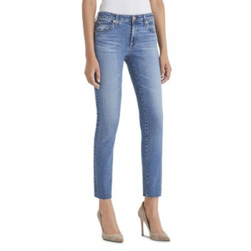 AG Women's Prima Ankle Jeans in Precision Precision Plus Size quality YKHC813