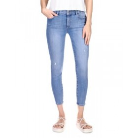 DL1961 Girls Florence Instasculpt Cropped Skinny Jeans in Cloud Distressed Cloud Distressed Stretch Ships Free GXMQ762