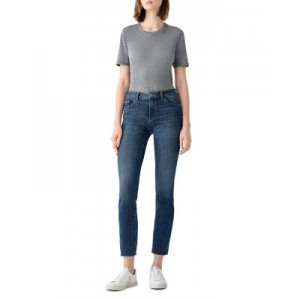 DL1961 Women's Mara Mid Rise Ankle Straight Leg Jeans in Chancery Chancery Plus Size ORJI932