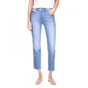 DL1961 Young Women's Patti High Rise Straight Leg Jeans in Reef Reef 27 Inch Leg NKOY856