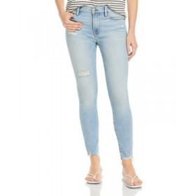 FRAME Young Women's Le Skinny DJ Cropped Jeans in Alemany Alemany Plus Size new look ESRX134