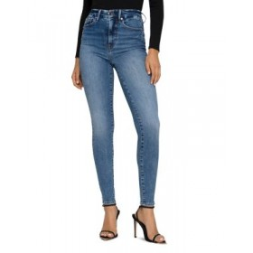 Good American Women's Good High Waist Skinny Jeans in Blue627 Blue627 boutique XYXN299