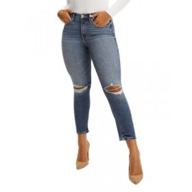 Good American Women's Good Legs Skinny Cigarette Cropped Jeans in Blue673 Blue673 stores AGUT426