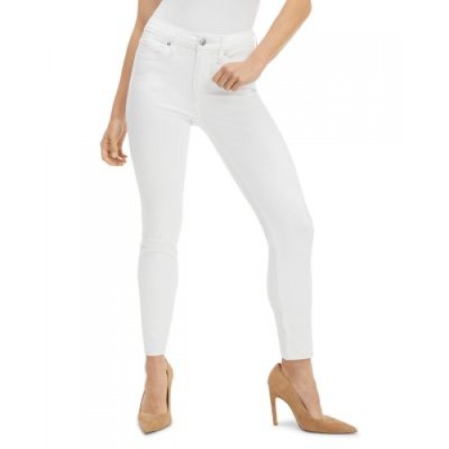 Good American Women's Good Petite Skinny Raw Edge Jeans White018 business casual QUYD367