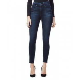 Good American Women's Good Waist Cropped Skinny Jeans in Blue 025 Blue 025 Size 26 QLTK997