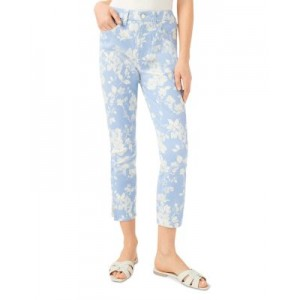Jen 7 Women's Printed Crop Skinny Jeans in Shadow Floral Shadow Floral 26 Inch Waist good quality OZEC545