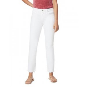 Joe's Jeans Girl's The Lara Cigarette Jeans in White White Size 28 Collection HZNJ499