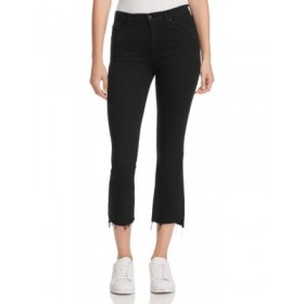 MOTHER Womens Insider Crop Step Fray Jeans in Not Guilty Not Guilty most comfortable KWHH994