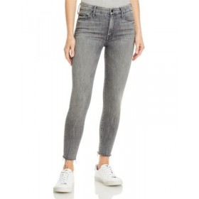 MOTHER Women's Looker Ankle Fray Skinny Jeans in All Nighter All Nighter Selling Well FNJM300