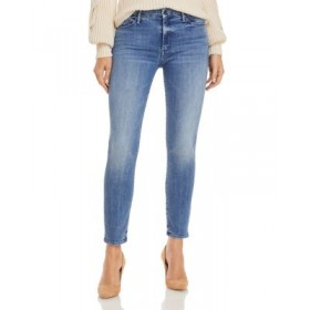 MOTHER Women's The Looker Skinny Ankle Jeans in We The Animals We The Animals Trend WMKQ337