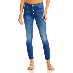 MOTHER Women's The Pixie Ankle Frayed Jeans in Second Thyme Around Second Thyme Around 26 Inch Waist On Sale AGYN611