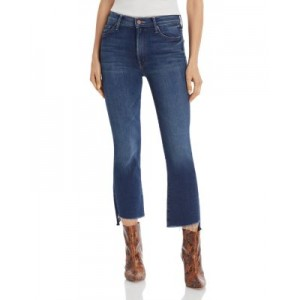 MOTHER Young Women's The Insider Crop Step Fray Flared Jeans Sweet And Sassy 25 Inch Leg For Sale DWRI380