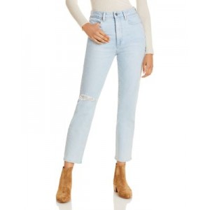 PAIGE Girl's High Rise Noella Jeans in Broadway Destructed Broadway Destructed Good Quality PDXW286