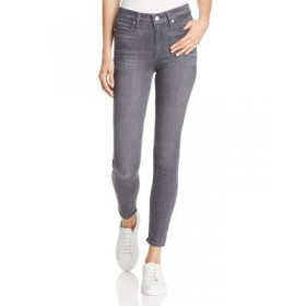 PAIGE Girls Hoxton High-Rise Ankle Skinny Jeans in Gray Peaks Gray Peaks Collection ODVK457