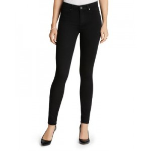 PAIGE Girl's Transcend Hoxton High-Rise Ultra Skinny in Black Shadow Black Shadow Sale YOKU457