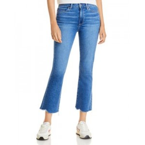 PAIGE Women's Colette Cropped Flared Jeans in Bay - 100% Exclusive Bay w/ Tuned Hem NWWH149