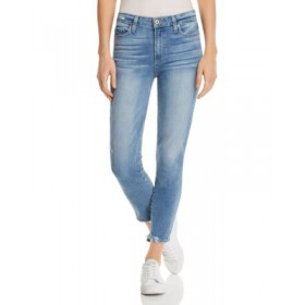 PAIGE Women's Hoxton High-Rise Crop Skinny Jeans in Atterberry Atterberry Size 30 XIDV933
