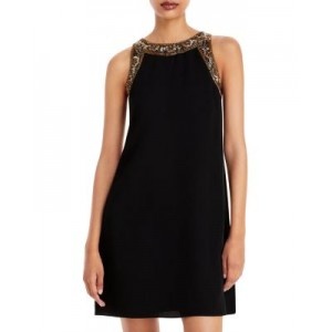 Aidan Mattox Women Embellished Shift Dress - 100% Exclusive Black Multi Holiday for sale near me CCJW177
