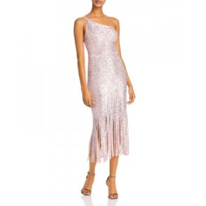 AQUA Women's Sequined Fringed-Hem Gown - 100% Exclusive Pink/Silver Boutique new look URTQ515